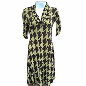 Do & Be Houndstooth Dress